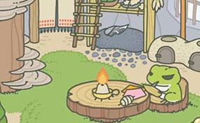 朋友圈里一只青蛙火了